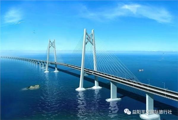 香港澳门之港珠澳大桥双卧七日游